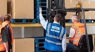 Fork lift training`