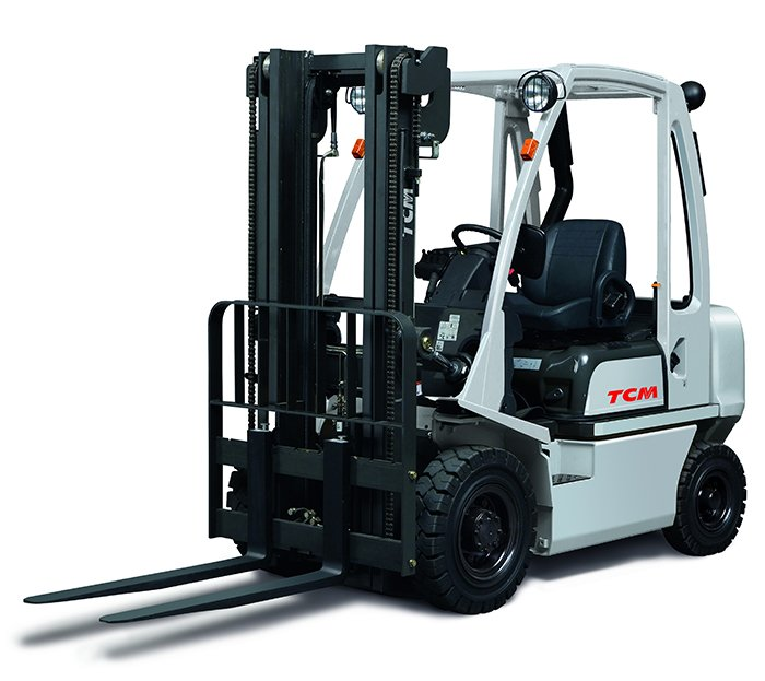 Counterbalance fork lift truck training