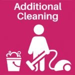additional cleaning